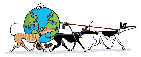 Great Global Greyhound Walk Logo