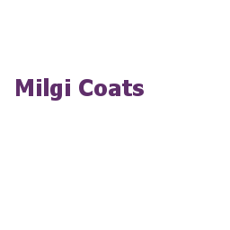 milgi coats white van quick delivery