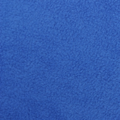 greyhound fleece coat in royal blue fabric