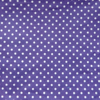 purple spot walking out coat fabric