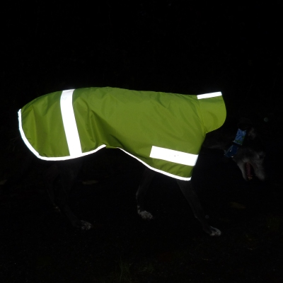 Hi Viz Greyhound Coat